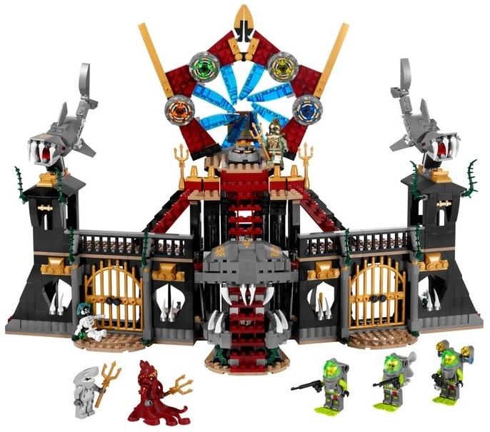 Лего 8078 ворота атлантиды lego