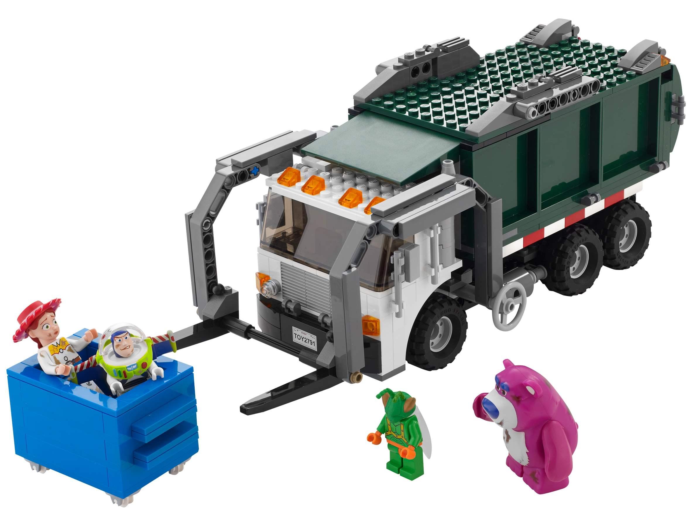 Побег на мусоровозе