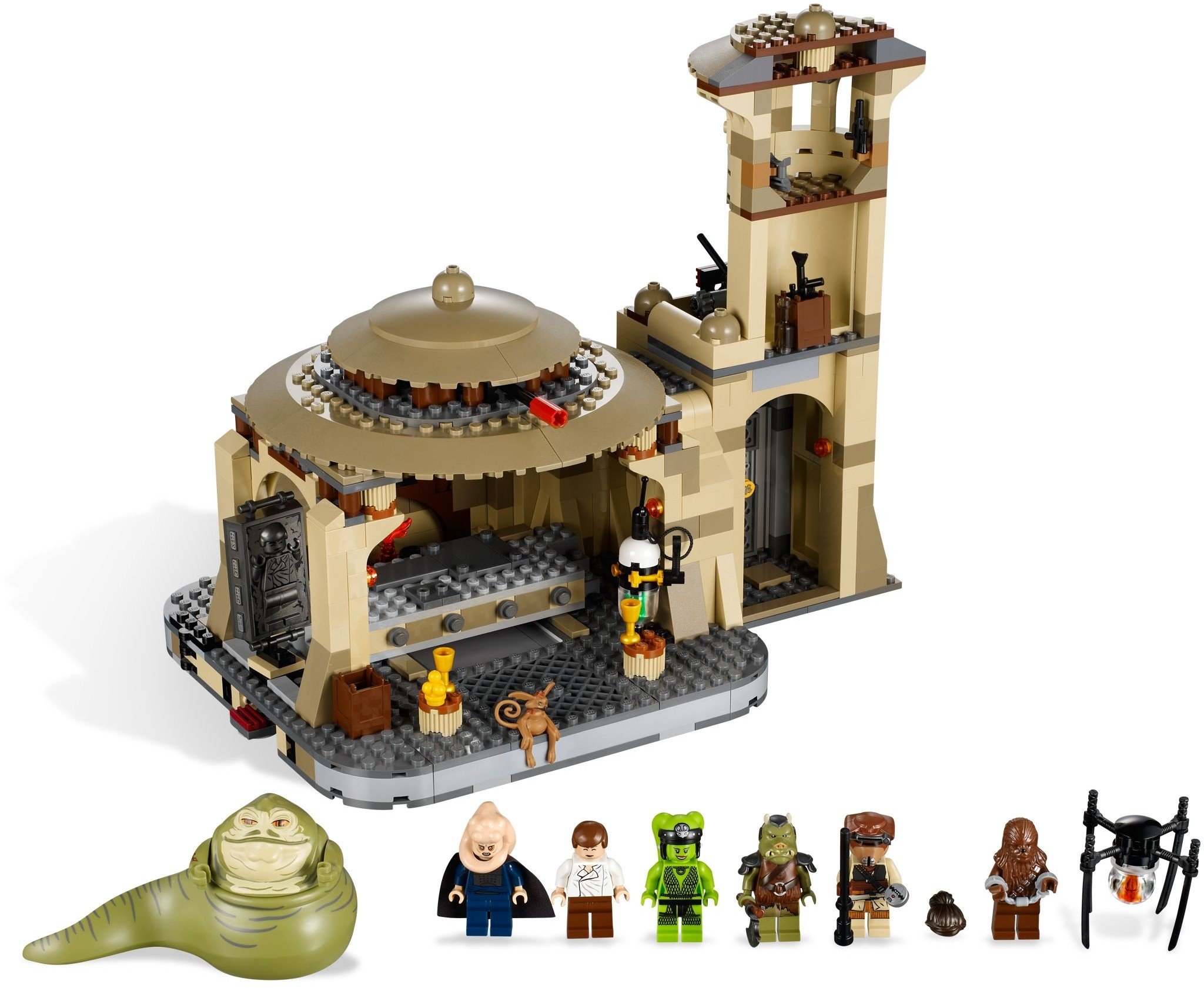 Лего 9516 дворец джаббы lego