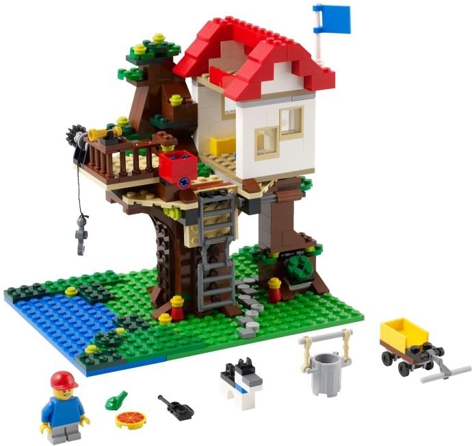Лего 31010 домик на дереве lego