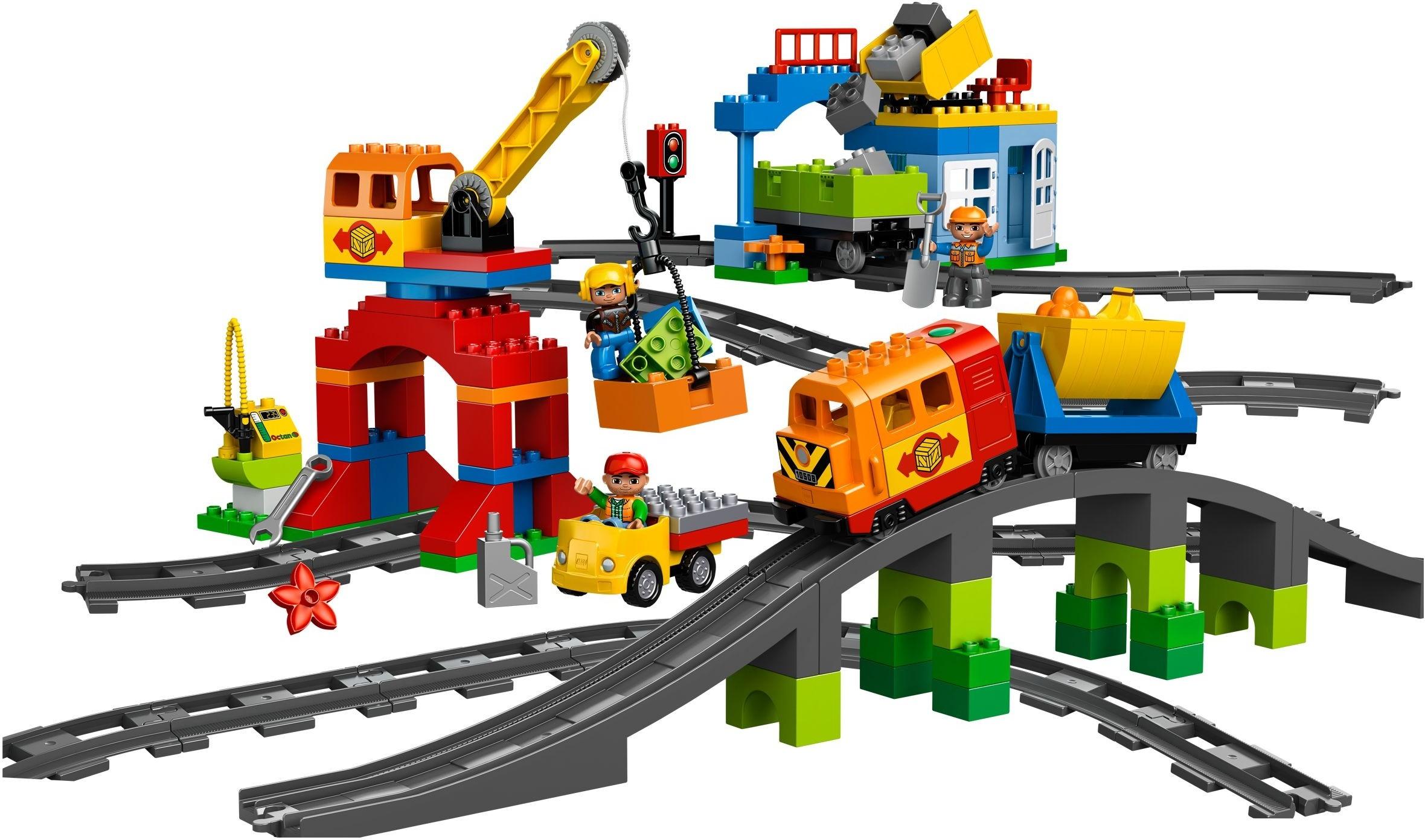 Лего дупло поезд 10508