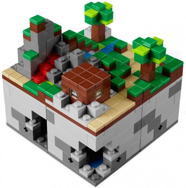Лего 21102 майнкрафт микро мир лес lego