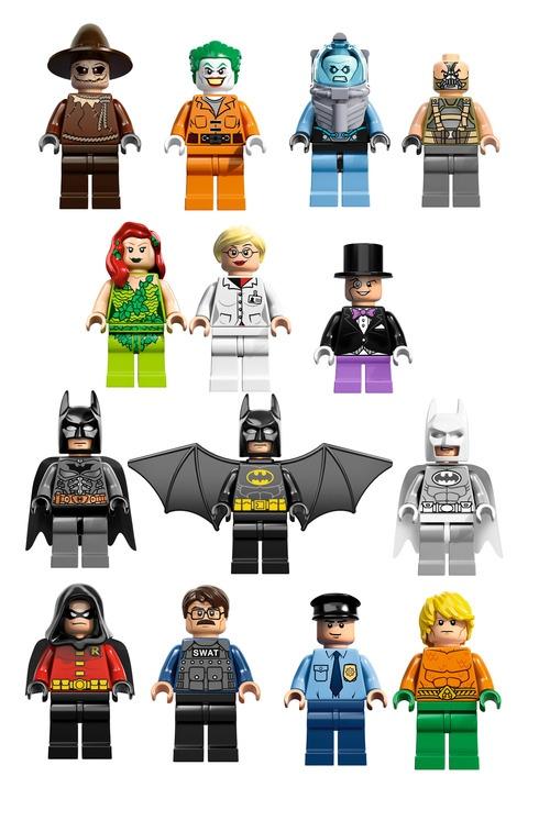 Серия лего супергерои по мотивам dc comics