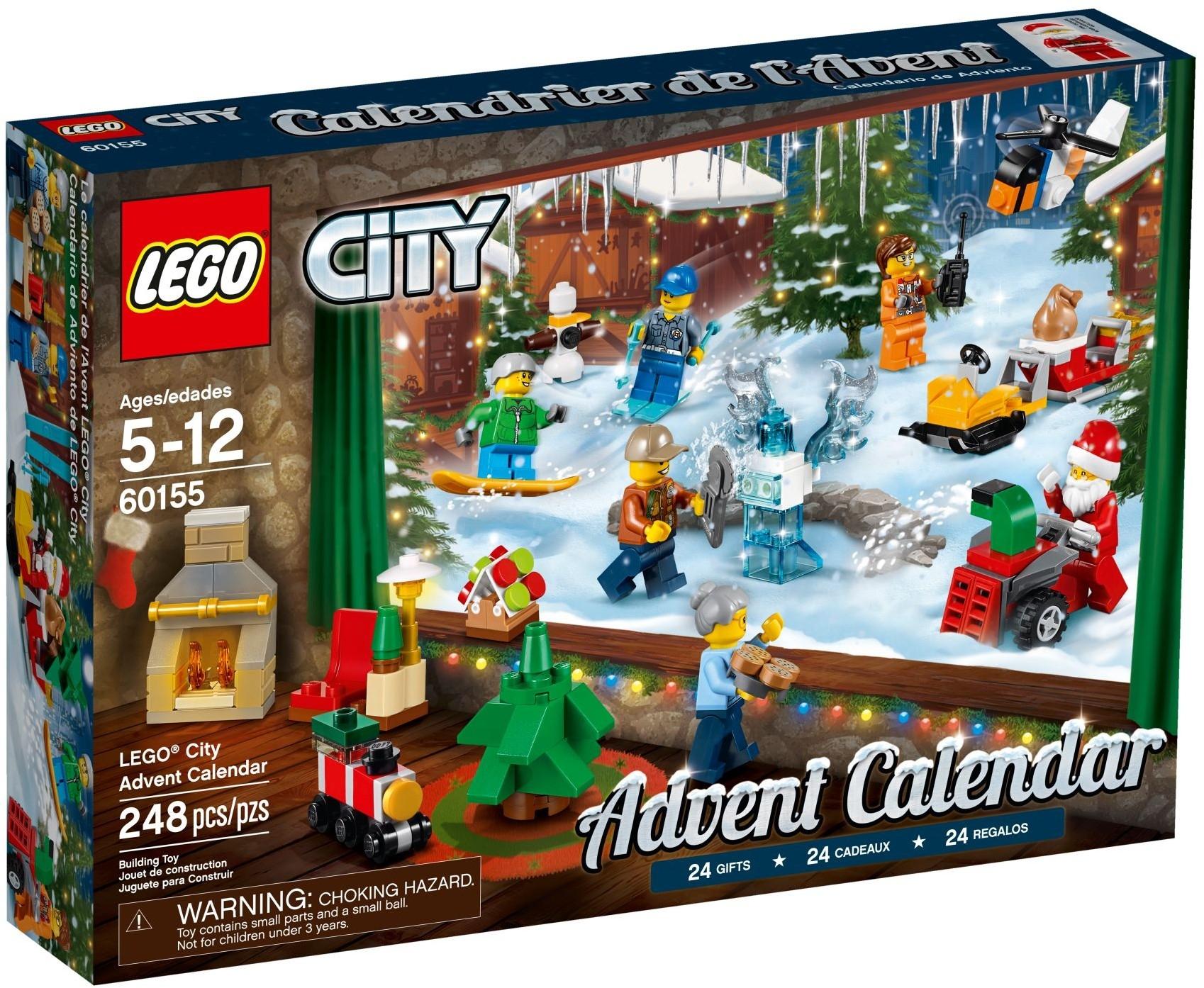 Новогодний календарь City