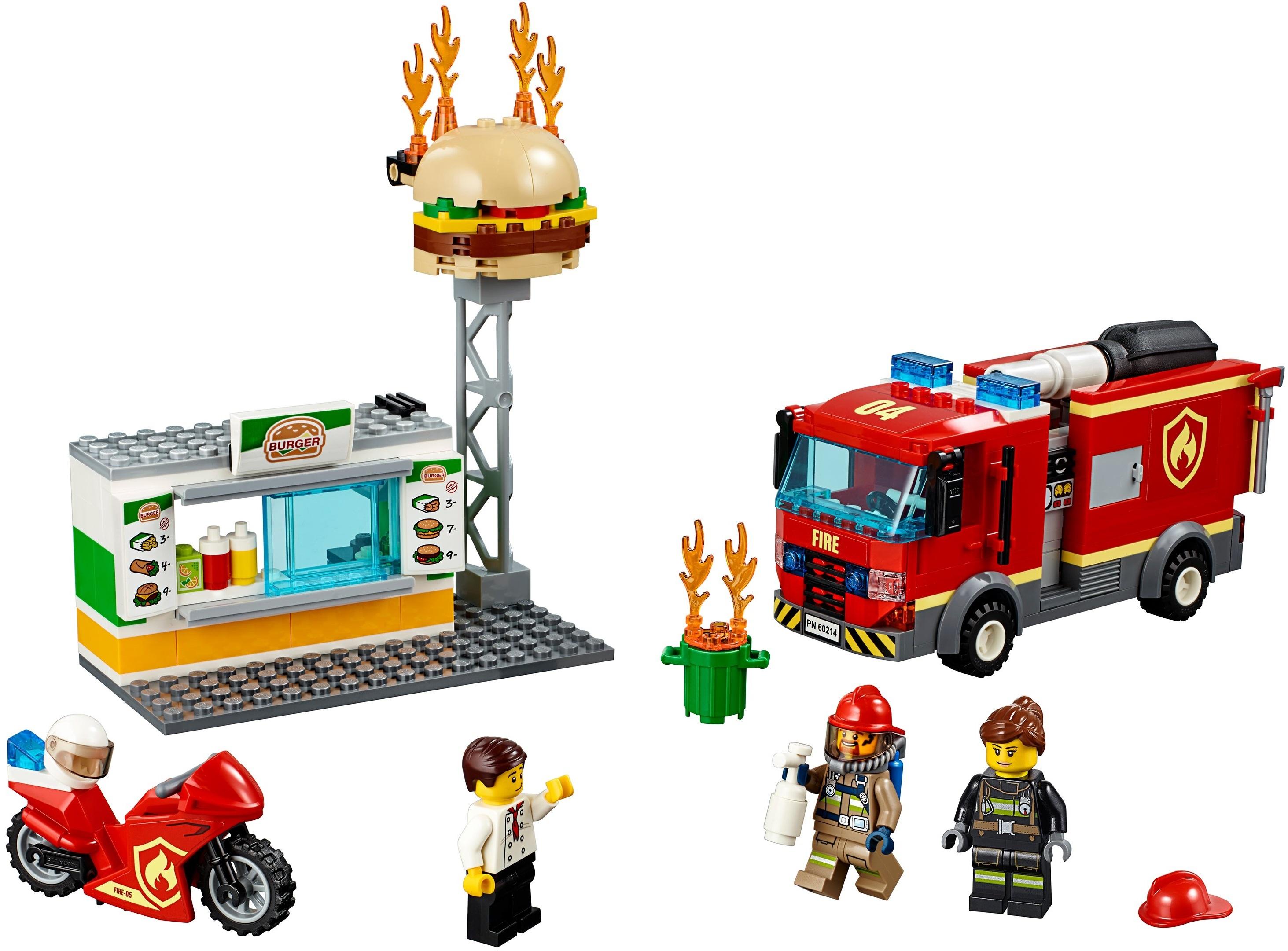 Пожар в бургер-кафе