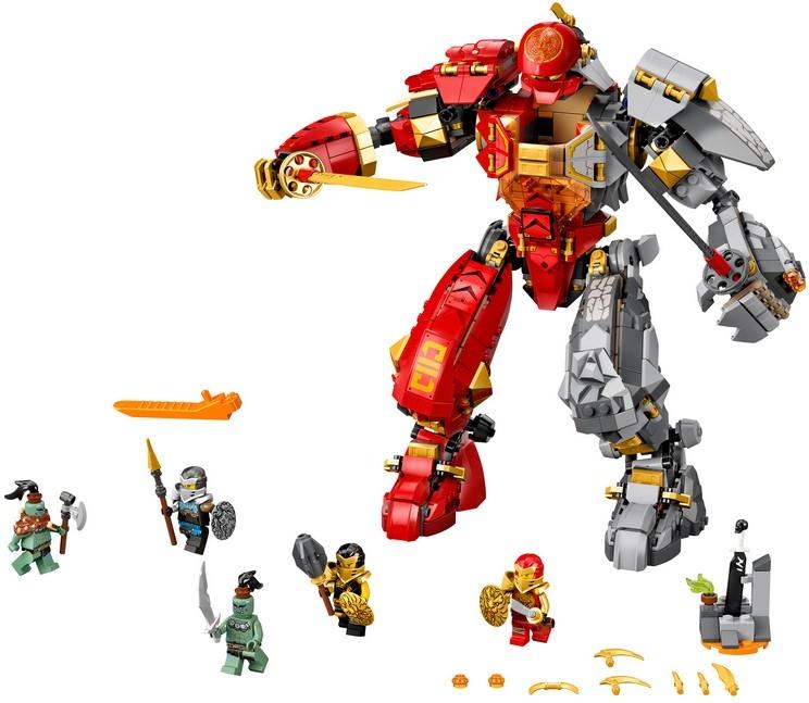 Каменный робот огня