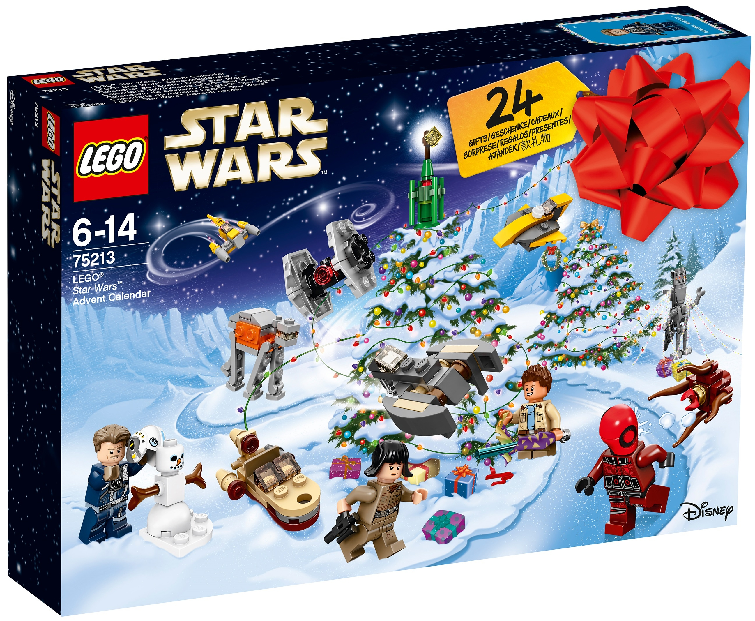 Новогодний календарь Star Wars
