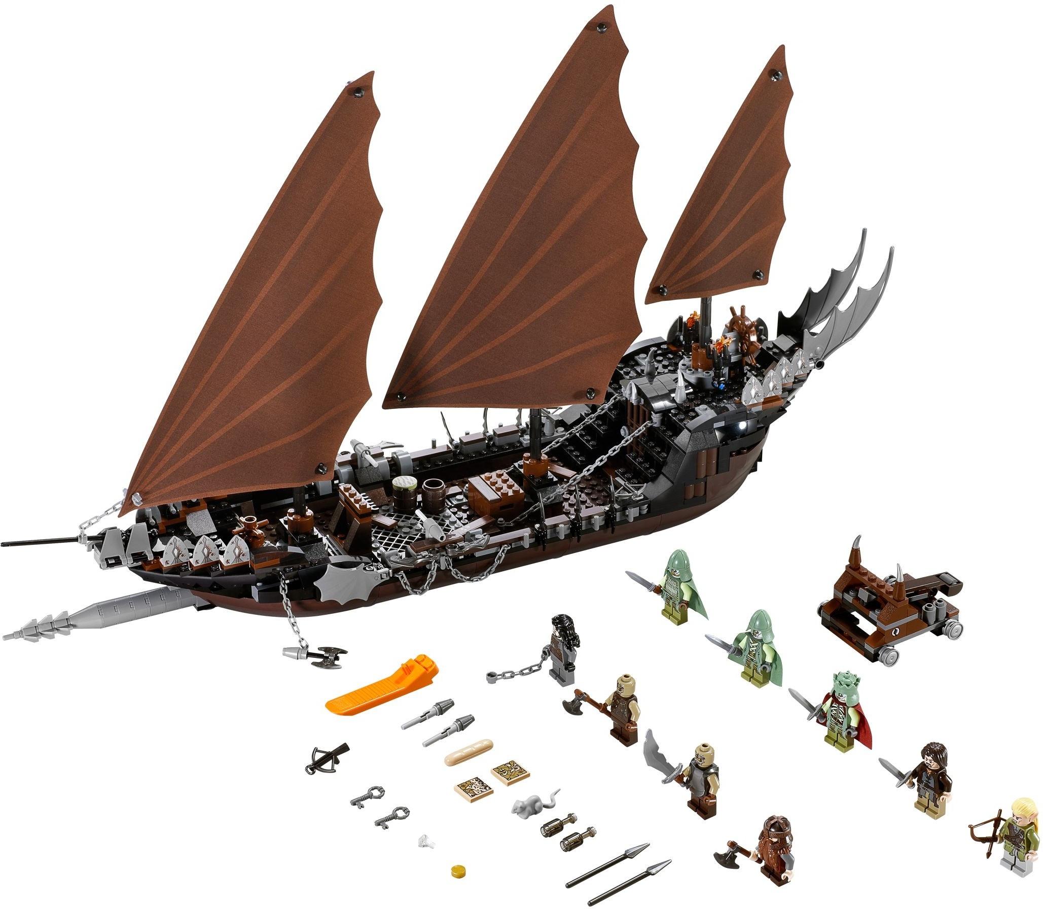 Атака на пиратский корабль