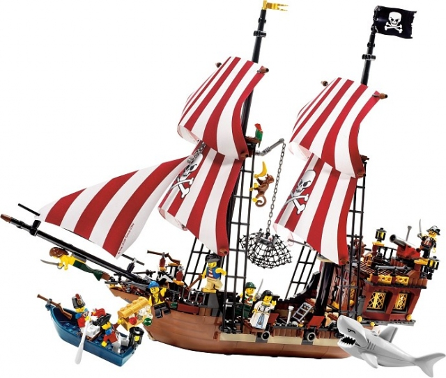 Корабль Бородатого капитана