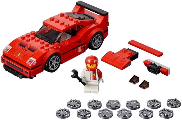 Автомобиль Ferrari F40 Competizione